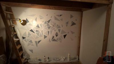 szürke háromszögek maszkoló szalag nélkül
