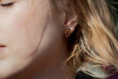 kicsi ékszerek fülbevalók kávékapszulából