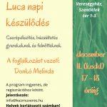 Luca nap plakát KézműVeres