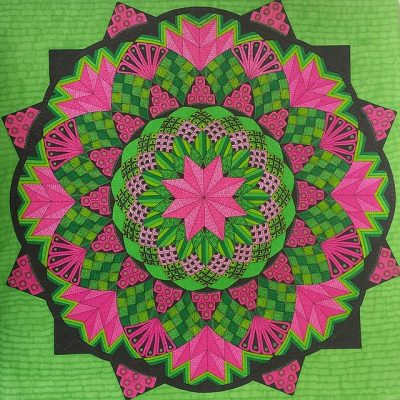 színes zen rajz