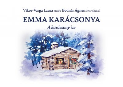 Emma karácsonya - Lapozó borító mesekönyv
