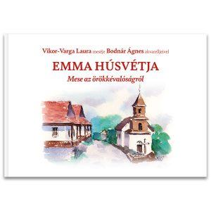 Emma húsvétja - Lapozó borító mesekönyv