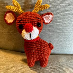 Horgolt Rudolf a rénszarvas